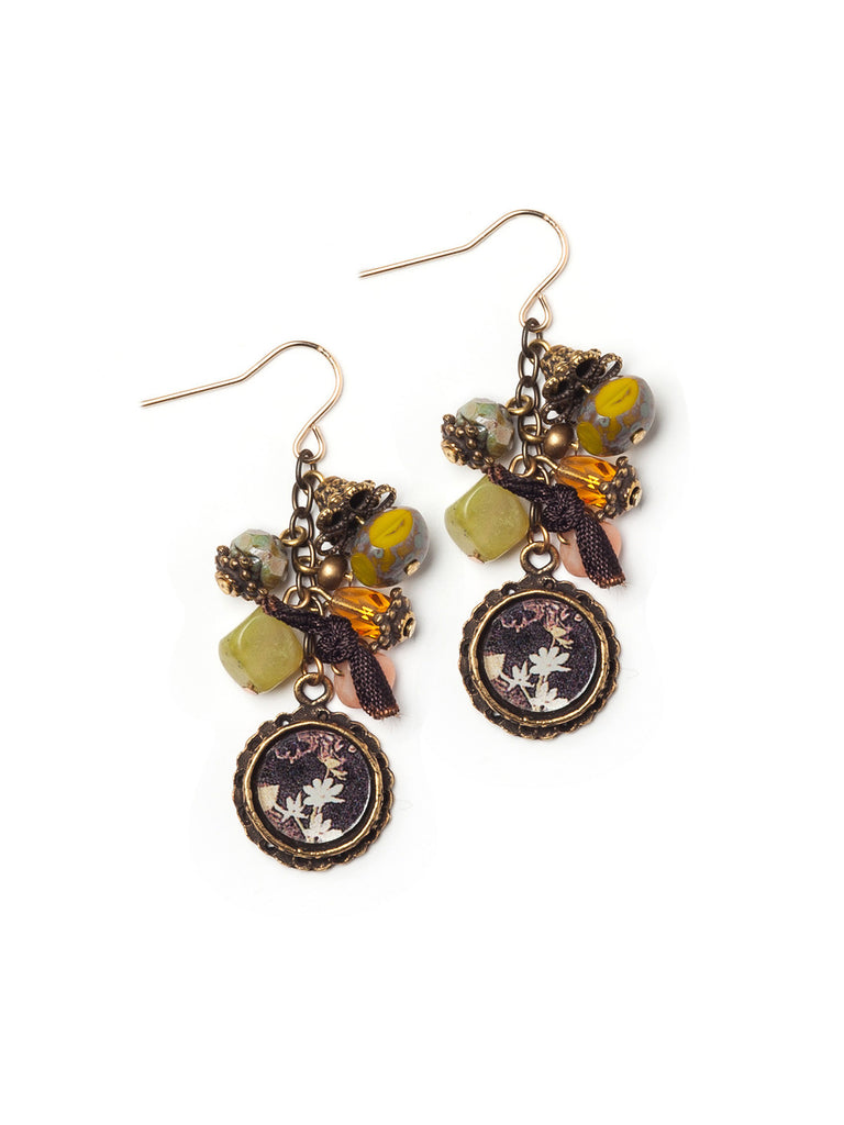 Rain Forest Earrings #R08E