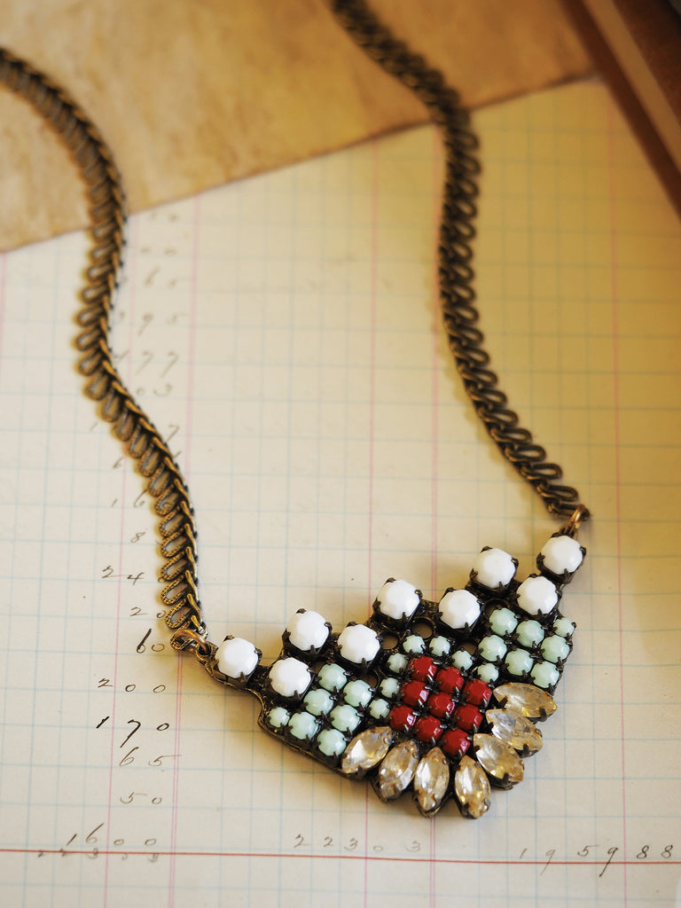Radiant Bloom Necklace #T04N