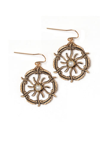 Sun God Earrings #T15E
