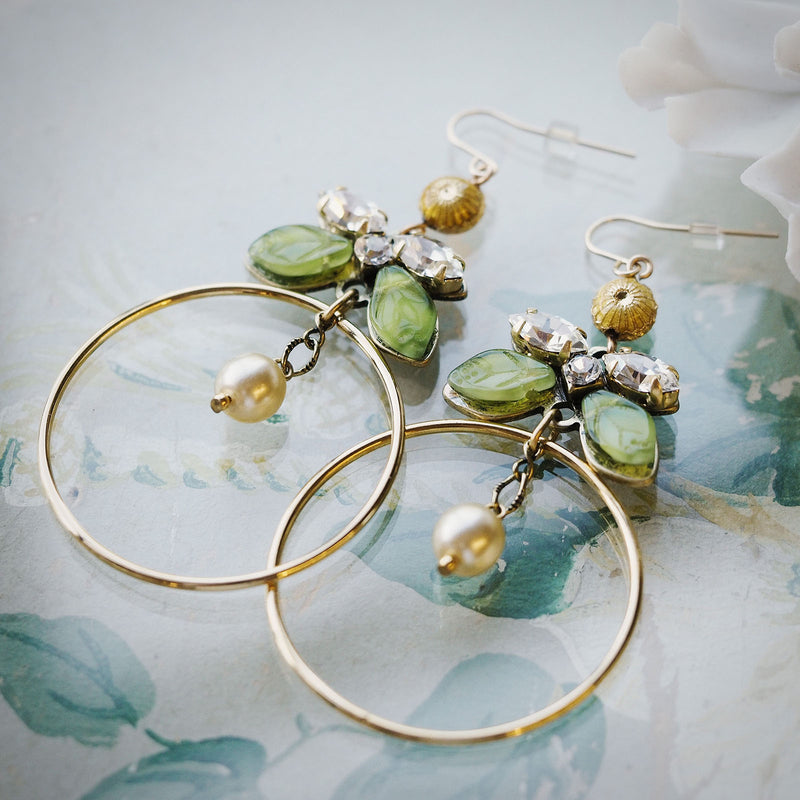 Lilian Statement Hoop Earrings