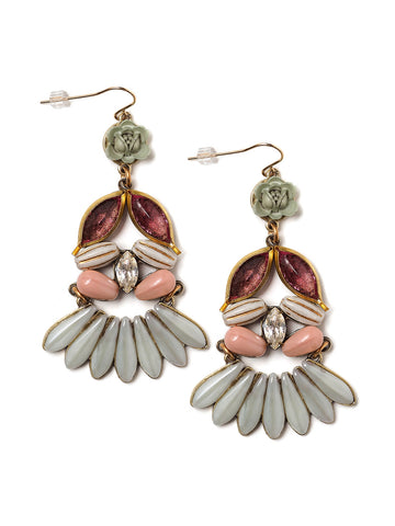 Adelia Statement Earrings #U07E