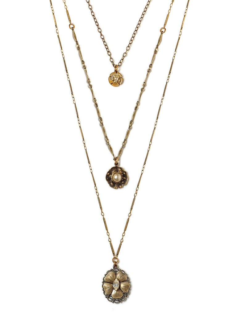 Alexandra Layered Necklace #U19N