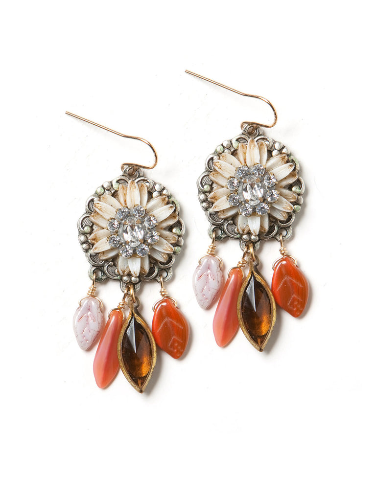 Foliage Earrings by Elements Jill Schwartz