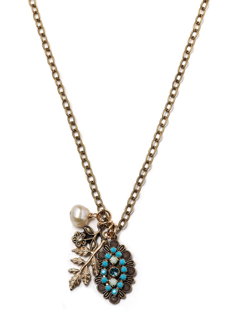 By The Sea Charm Necklace