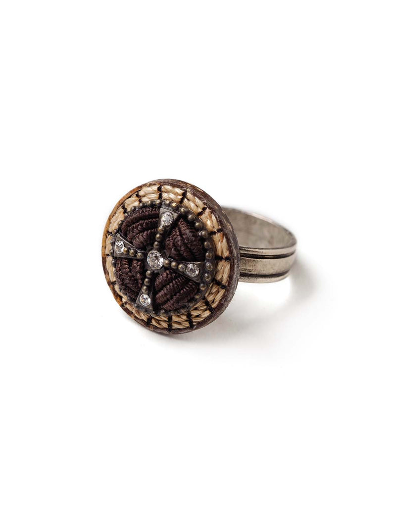 Crystal Compass RIng