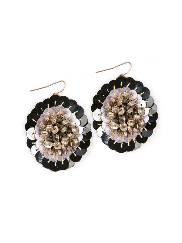 Statement Sequin Earrings