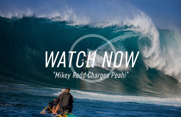 Mikey Redd Charges Peahi