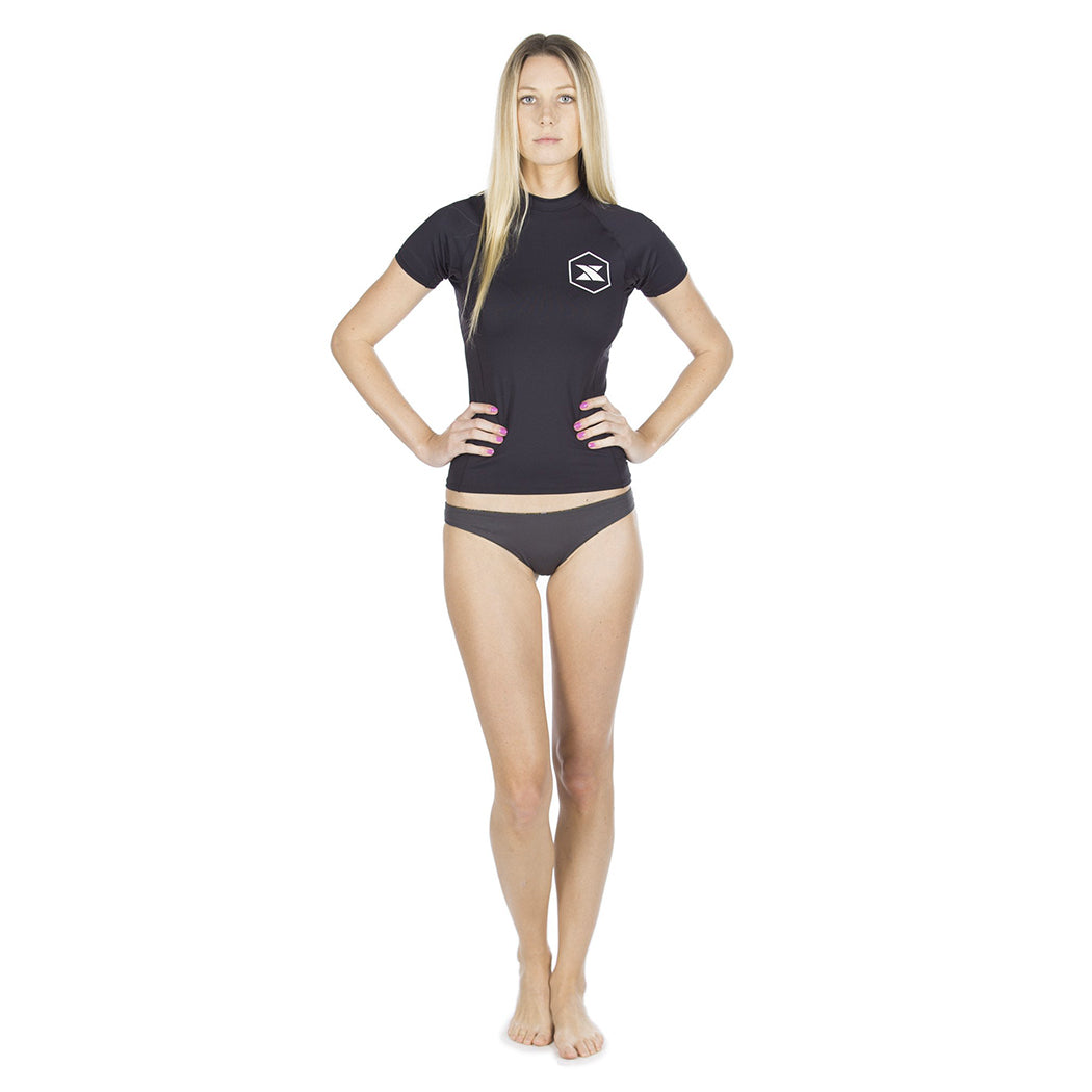 3c319446 Women's Short Sleeve Rashguard