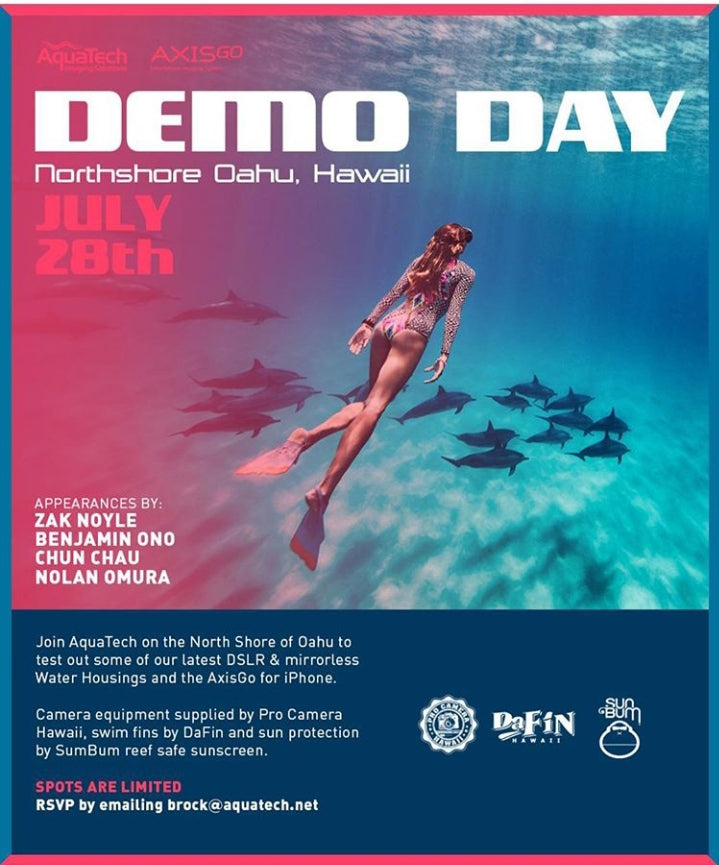 July 28th Aquatech Demo Day!