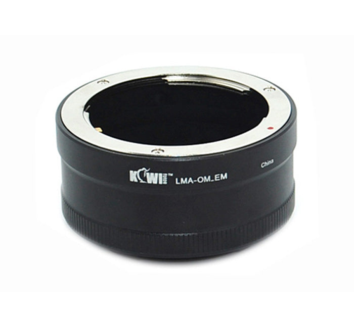 JJC lens mount adapter allows Olympus OM lens to be used on any Sony E-Mount camera body (LMA-OM_EM)