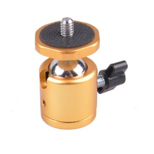 GTX Mini Ball Head-Gold