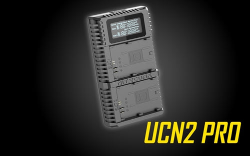 Nitecore UCN2 Dual Slot USB Charger for Canon