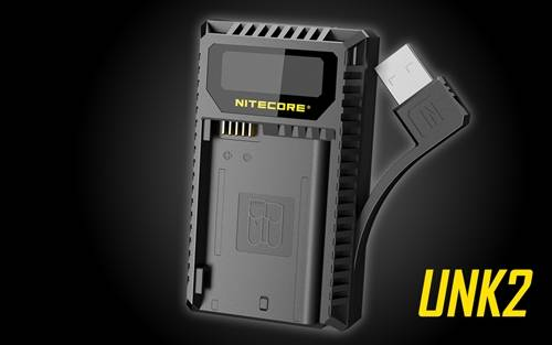 Nitecore USB Charger for Nikon