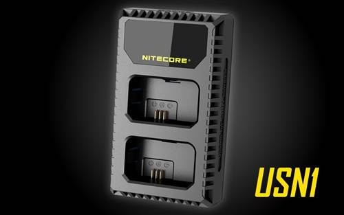 Nitecore USB Charger for Sony NP-FW50