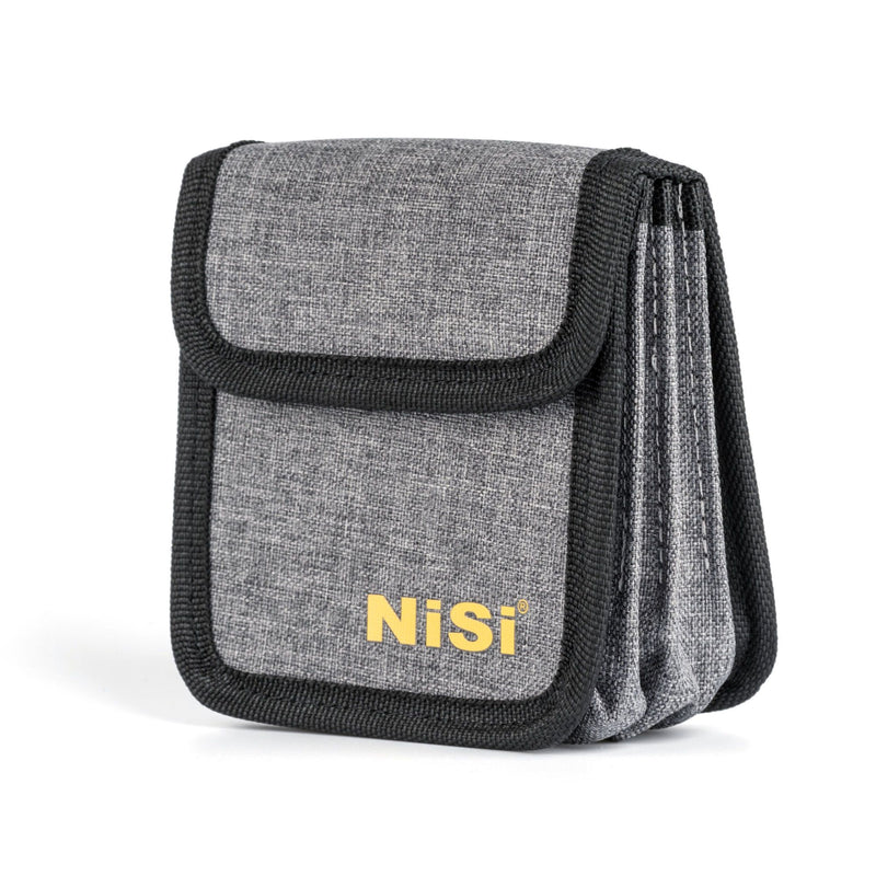 NiSi Circular Filter Pouch for 4 Filters (Holds 4 Filters up to 95mm)