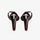 SR-BH60-R GAMESMONIC BLUETOOTH 5.0 WIRELESS TWS EARBUDS WITH BUILT-IN MIC, CHARGING CASE, IPX5 WATER RESISTANCE, PREMIUM SOUND & ENHANCED BASS (RED)