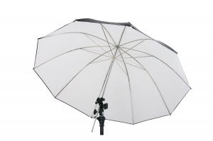 GTX Studio 45in Black/White Umbrella with 10 Panels