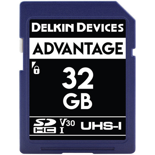 Delkin Devices Advantage Digital (SDXC) 633X UHS-I - Memory Card