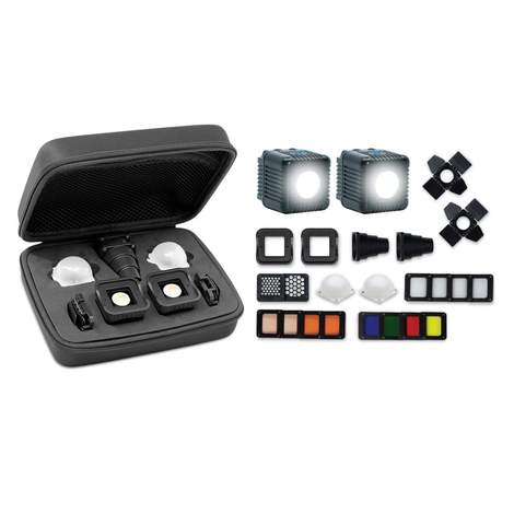 LUME CUBE 2.0 PRO LIGHTING KIT (BEST VALUE) - 2 LIGHTS + ALL MODIFIERS
