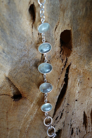 Sterling Silver with Natural Stone Bracelet