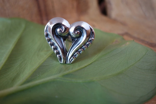 Handcrafted solid sterling .950 silver adjustable ring from Taxco, Mexico
