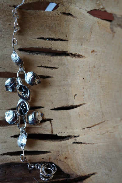 Handcrafted solid sterling .925 bracelet from Taxco, Mexico