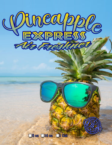 Pineapple Express Air Freshener