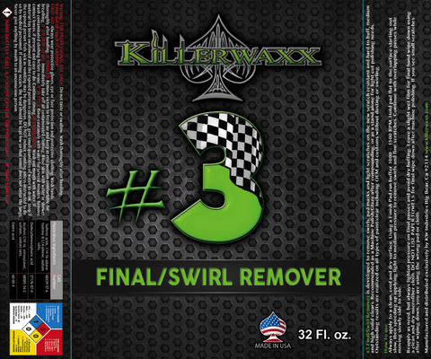 Paint Shop Safe-#3 FINAL/SWIRL REMOVER