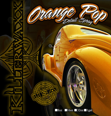 DETAIL SPRAY-Orange Pop