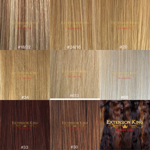 Blonde Hair Extensions Color