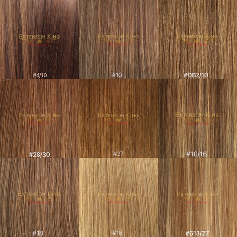 Hair Extensions Color Swatch