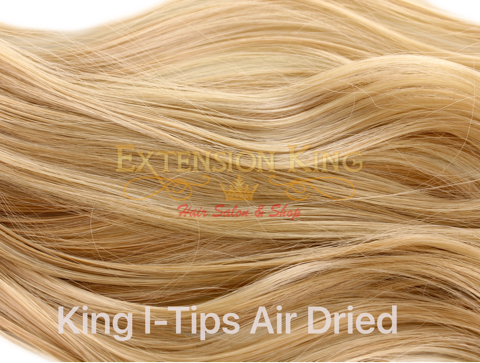 King I-Tip Strands  (Double Drawn)