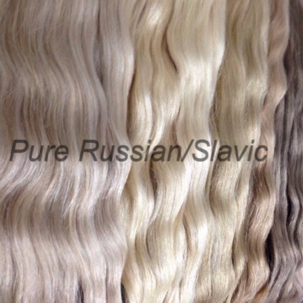 Pure Russian/Slavic Keratin Strands