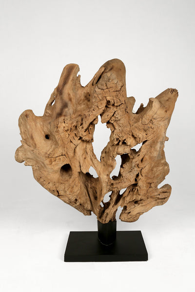 Teak Wood Sculpture IV