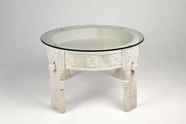 Bowl Top Side Table