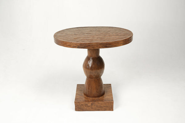 African Styled Side Table- Natural