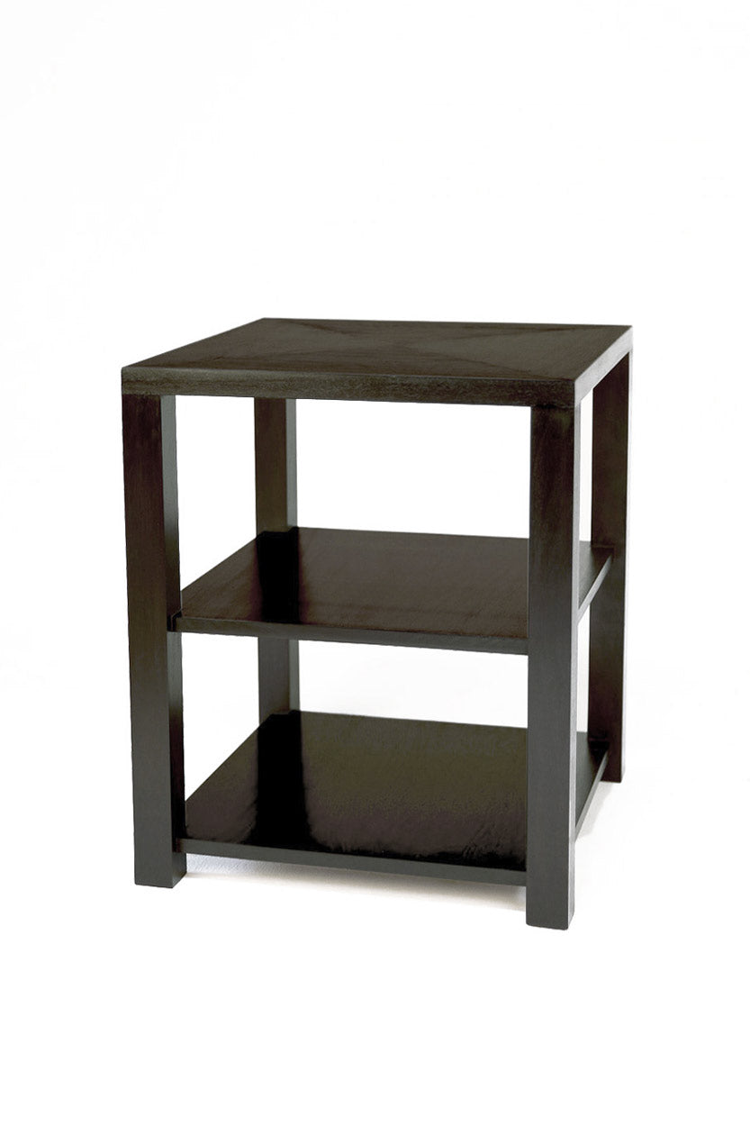 Square Drink Table- Ebony