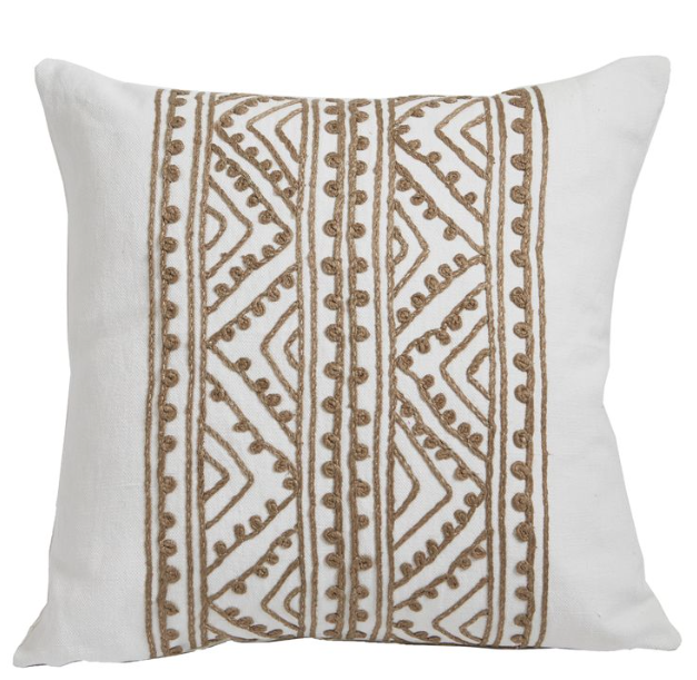Jaipur Silk Embroidered Pillow