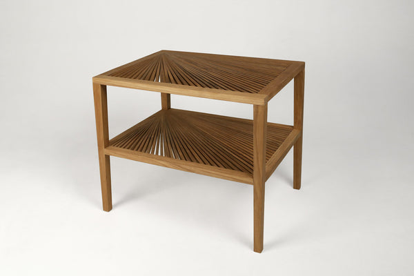 Fan Side Table- Large in Natural