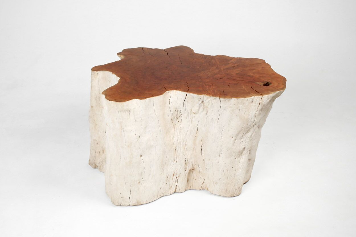 Organic Lychee Root  Side Table