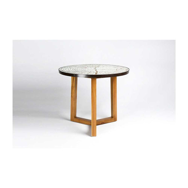 Retak Mirror Top Side Table