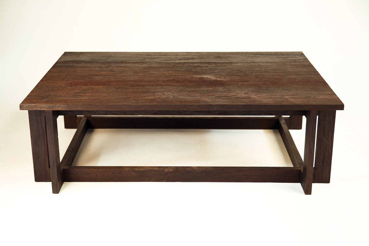 Stained Teak Coffee Table