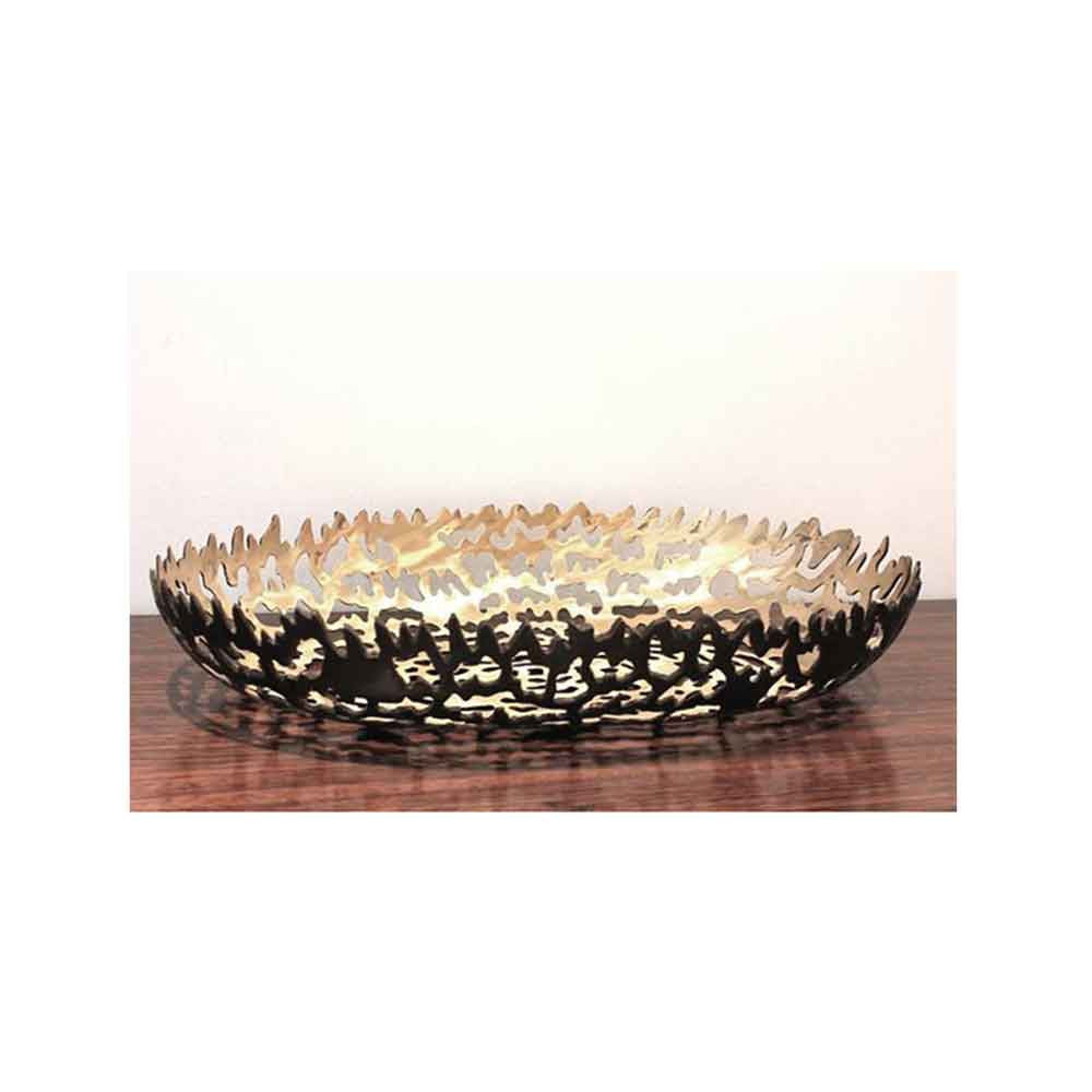 Bronze Oblong Bowl