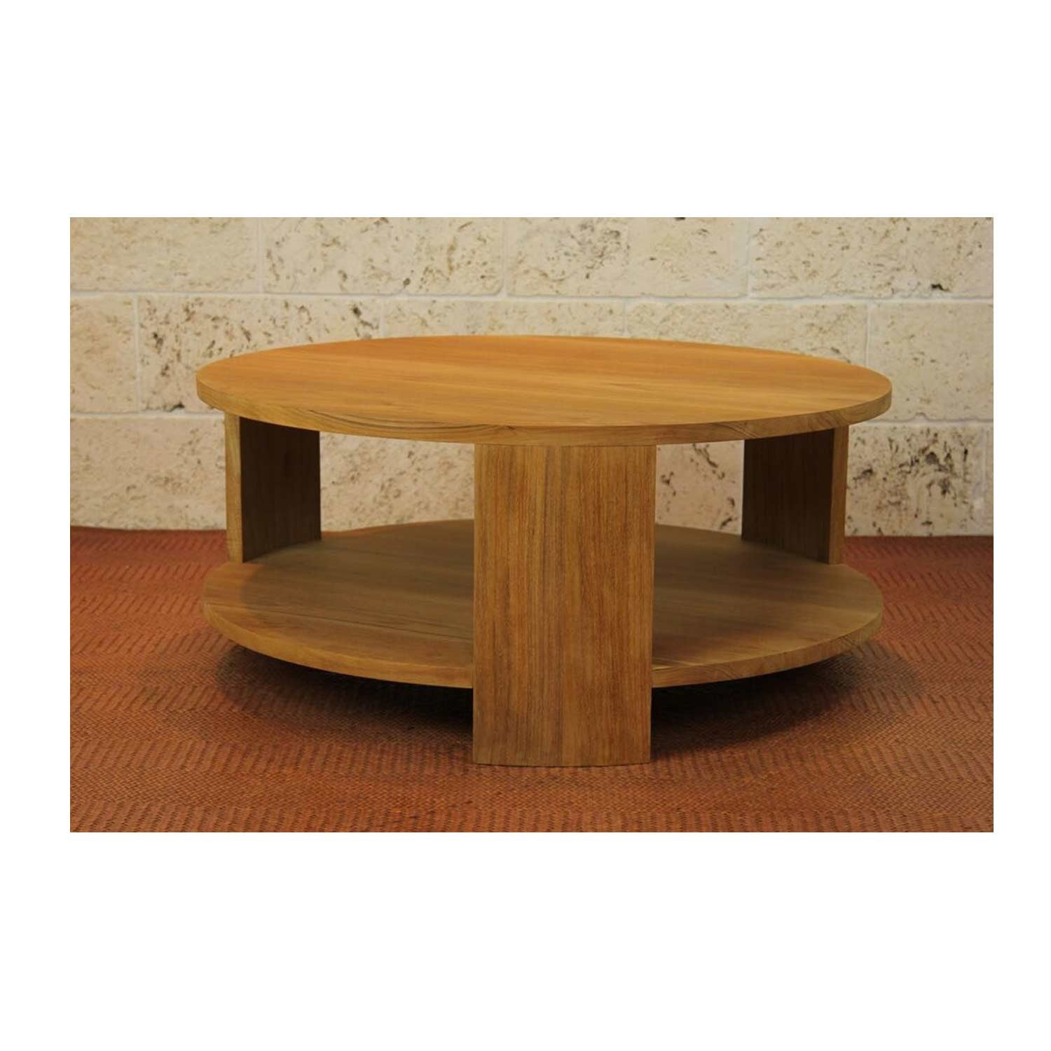 Cristina Natural Teak Coffee Table