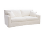 Santai Sofa in White Duck