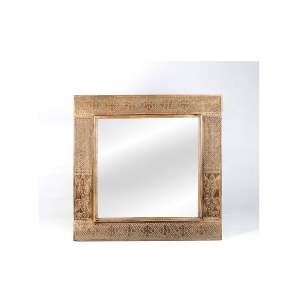 Timor Carved Mirror - Square