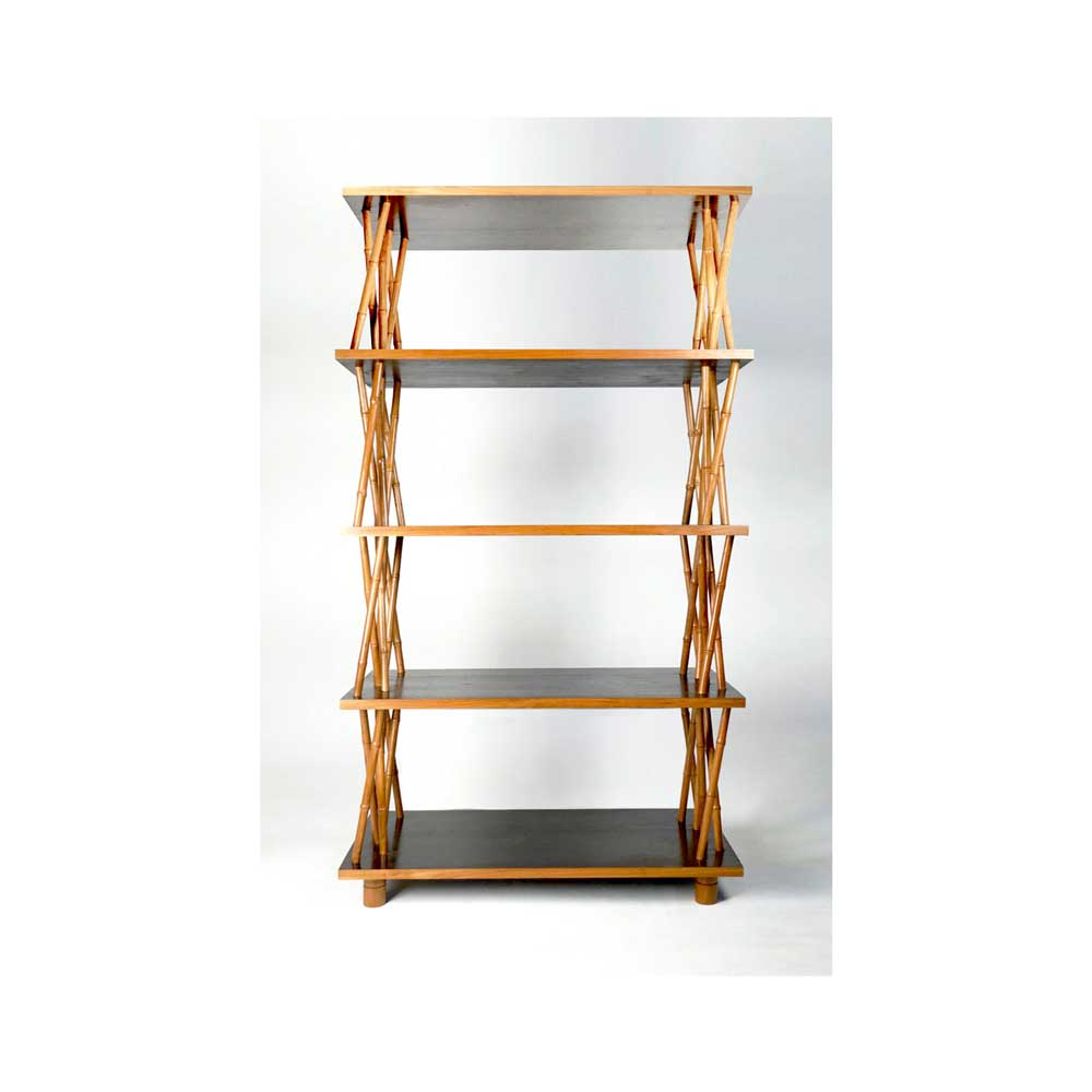 Natural Bamboo Etagere