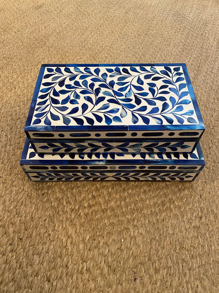 Bone Vine Motif Box