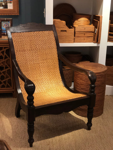 Rattan British Colonial Chairs