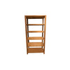 Brushed Teak Wood Etagere